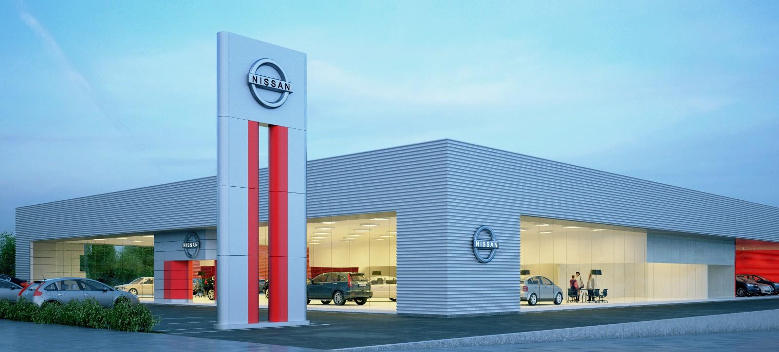 Nissan Store - Recreio dos Bandeirantes - Central Arquitectos
